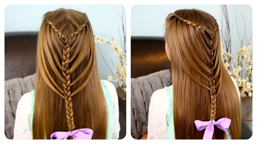 Admirable Top 10 Cute Girl Hairstyles For School Yve Style Com Hairstyle Inspiration Daily Dogsangcom