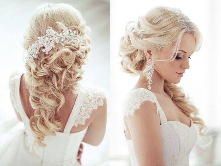 long curly wedding hairstyles Top 20 most beautiful wedding hairstyles