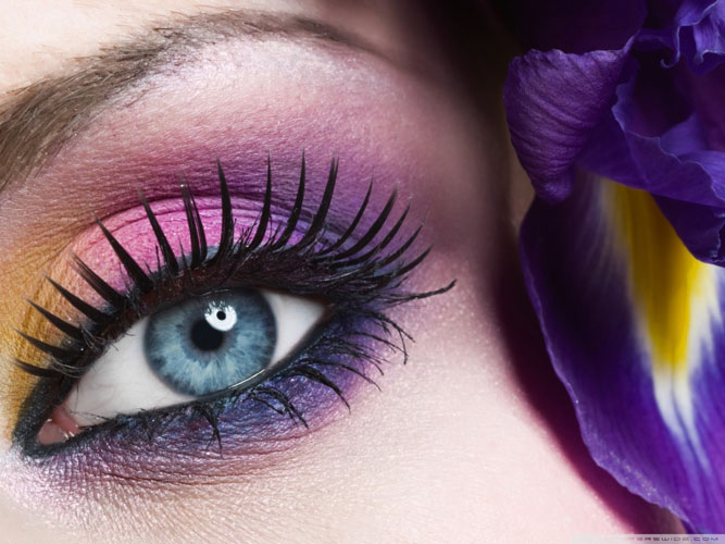 purple smokey eye makeup How to do smokey eye makeup with pictures