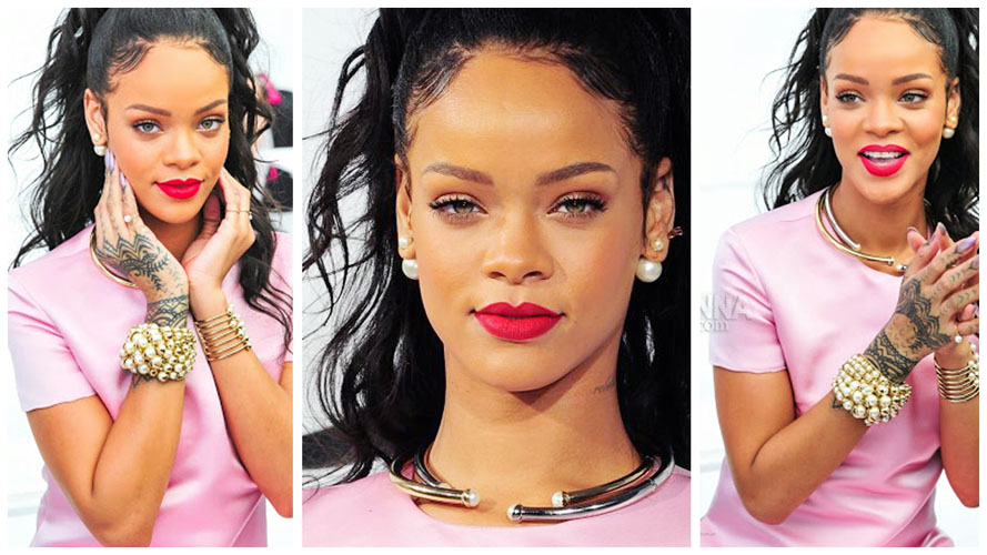 rihanna makeup ideas