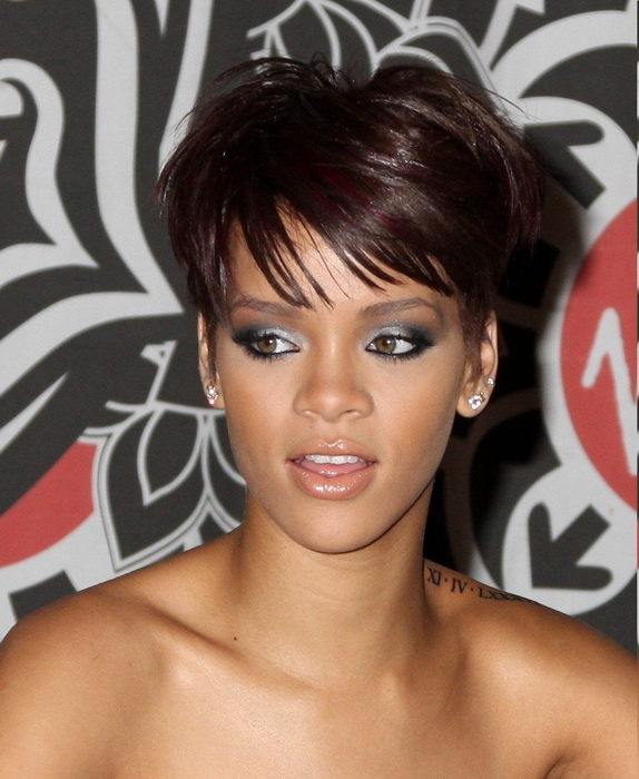 rihanna short hairstyles Short hairstyles for women