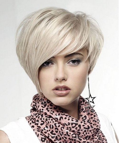short haircuts for round faces Top 20 short haircuts