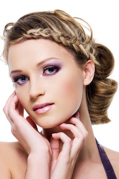 side crown braids 20 Best New Braided hairstyles
