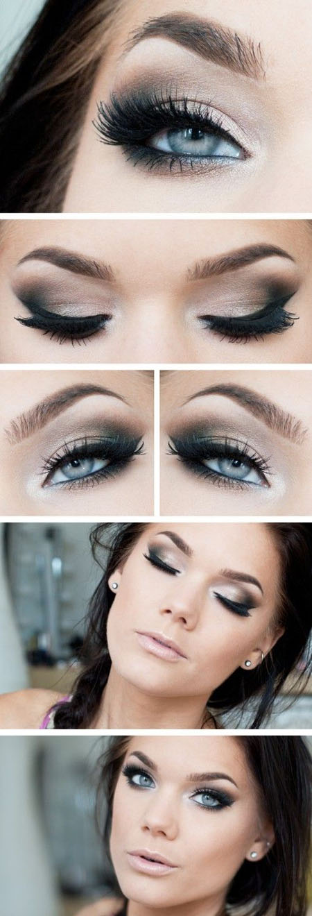 smokey eye makeup for green eyes How to do smokey eye makeup with pictures