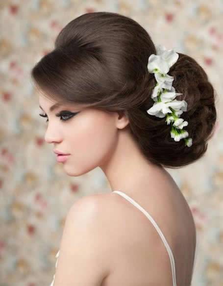 wedding hair style for bride top 20 most beautiful wedding hairstyles yve style 2660 | vintage wedding hairstyles