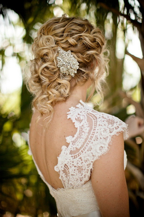 wedding hairstyles for curly hair Top 20 most beautiful wedding hairstyles