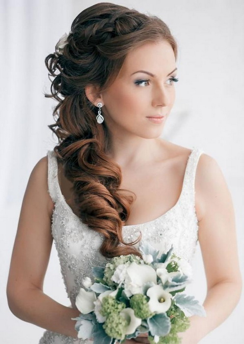 wedding hairstyles for long hair down Top 20 most beautiful wedding hairstyles