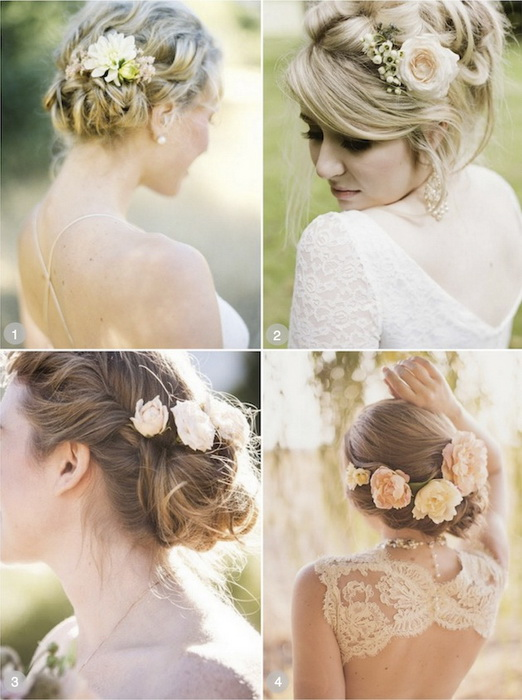 wedding hairstyles for medium length hair1 Top 20 most beautiful wedding hairstyles