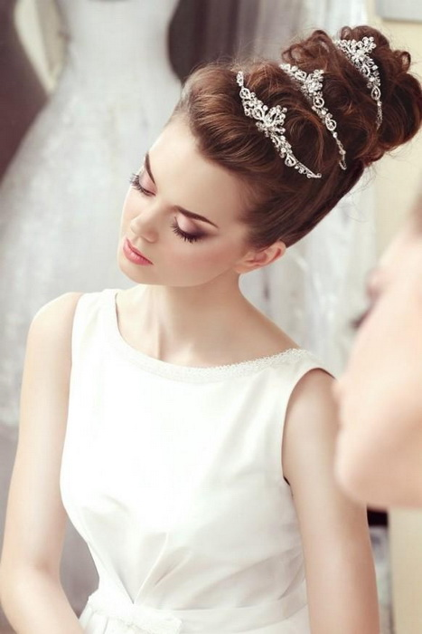 wedding hairstyles half up Top 20 most beautiful wedding hairstyles