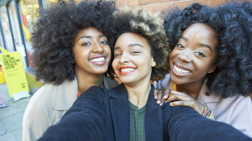 Afros natural hairstyles