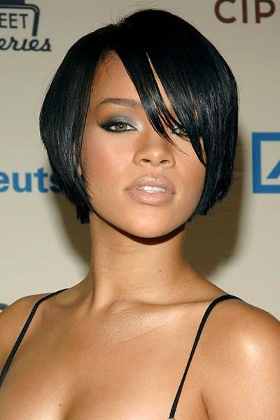 Bob hairstyles for heart-shaped face