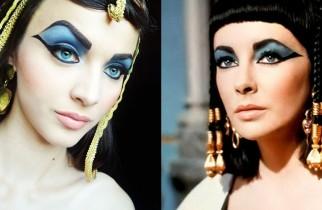 Cleopatra eyes makeup