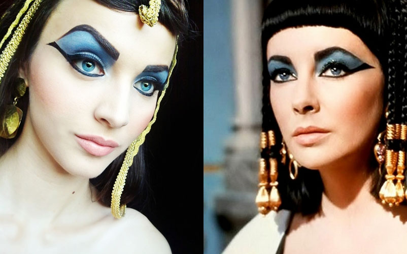Cleopatra eyes makeup Cleopatra makeup tutorial and pictures