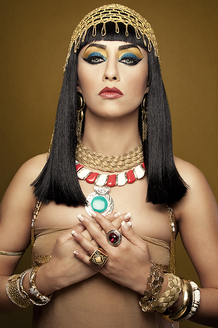 Cleopatra make up Cleopatra makeup tutorial and pictures