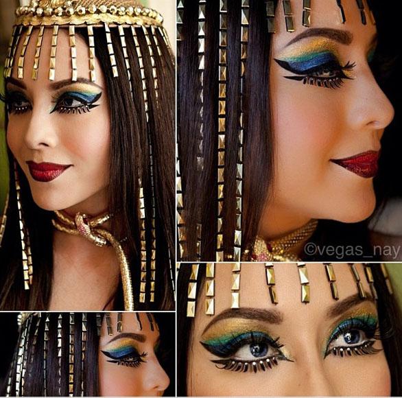 Cleopatra makeup Cleopatra makeup tutorial and pictures