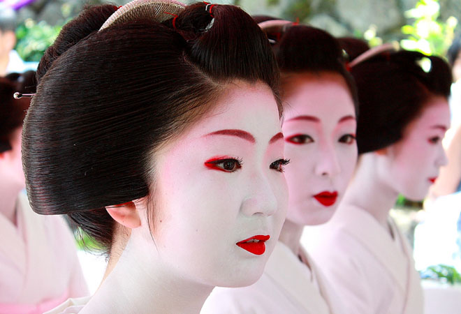 Geisha makeup Geisha makeup tutorial and pictures