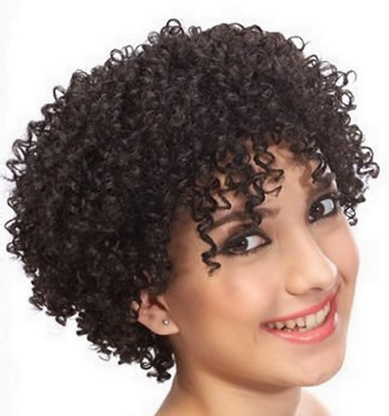 Short afro curls Short curly hairstyles for naturally curly hair