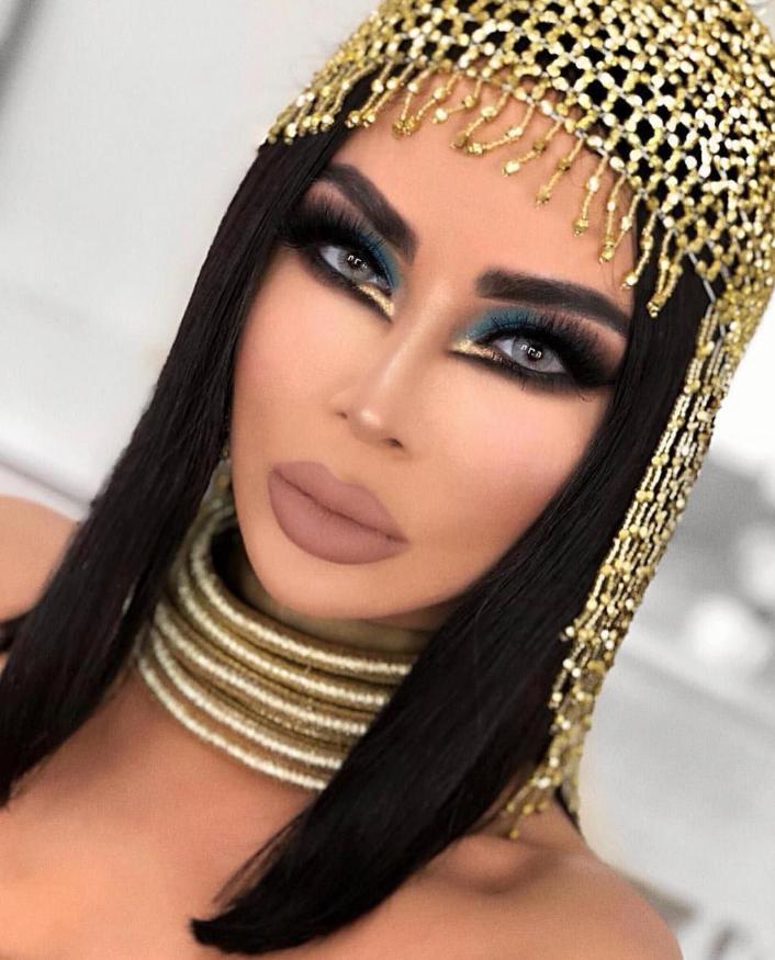 cleopatra makeup look