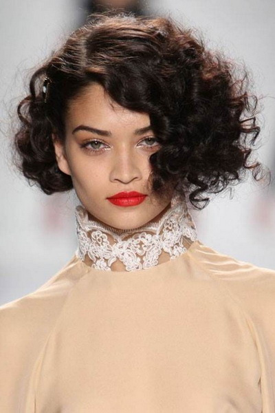 cute short curly hairstyles Short curly hairstyles for naturally curly hair
