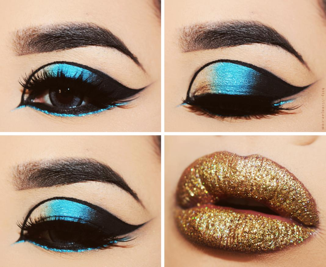 easy cleopatra makeup