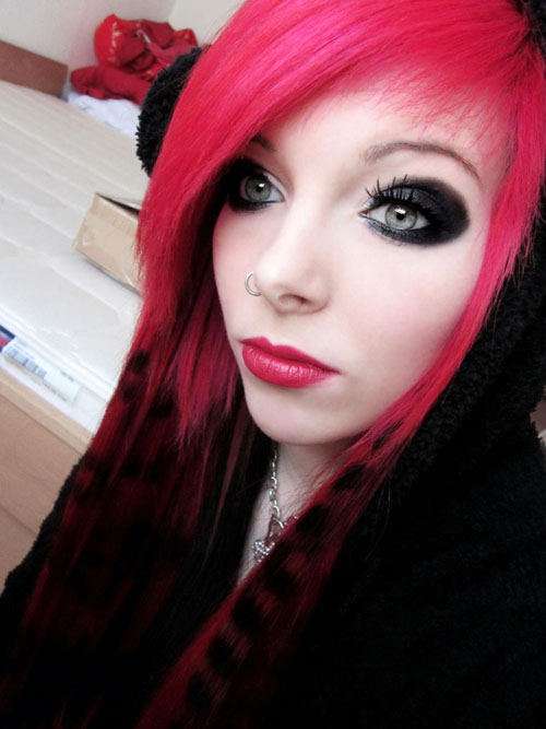 Emo Makeup Tutorial Tips And Ideas Yve Style Com