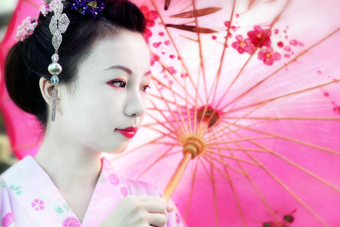 geisha white makeup Geisha makeup tutorial and pictures