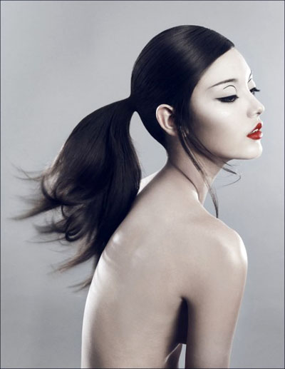 hairstyles Sleek ponytails Homecoming hairstyles photos and ideas