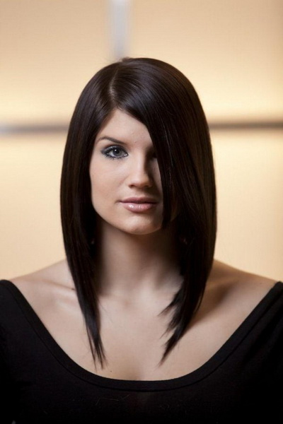 long bob hairstyle Bob hairstyles for different face shapes