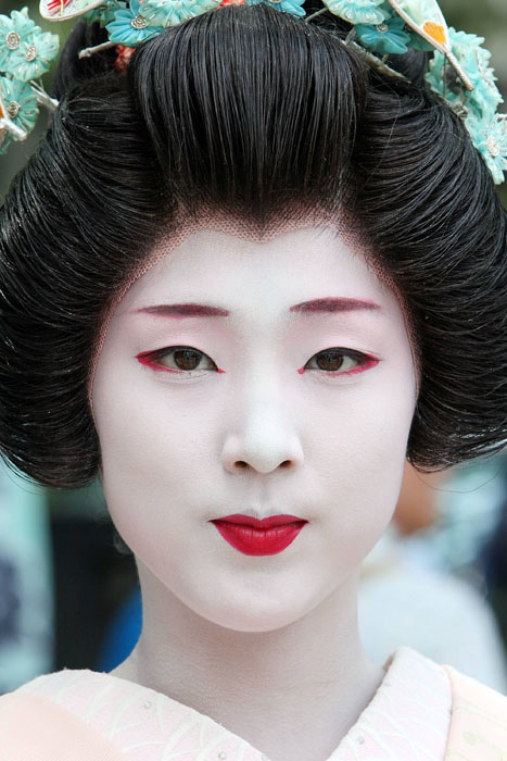 traditional geisha makeup Geisha makeup tutorial and pictures