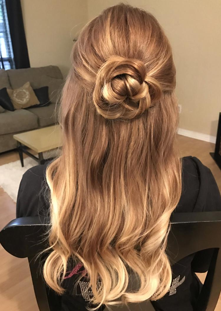 wavy-homecoming-hairstyles