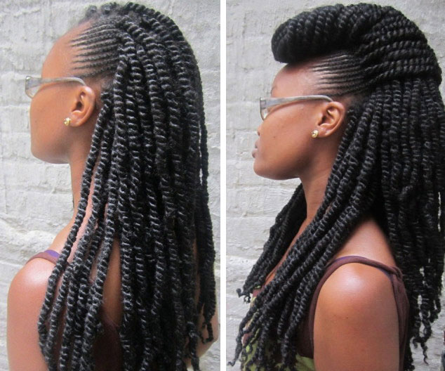 Braids and twists Hairstyles for thin hair