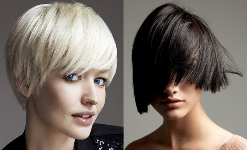 Cool bobs Hairstyles for round faces