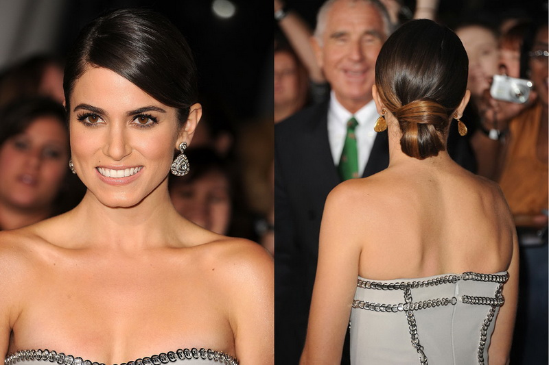 Sleek and chic Hairstyles for round faces