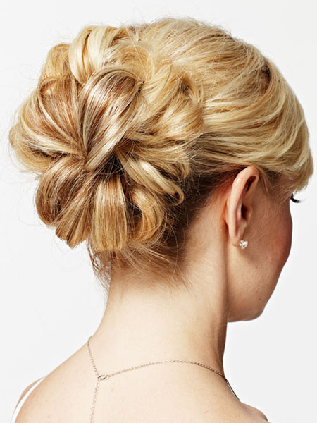 Up-do hairstyles for thin hair