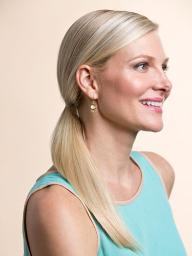 hairstyles for thin hair Ponytails Hairstyles for thin hair