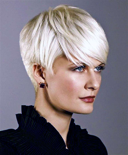Short haircuts for fine thick hair