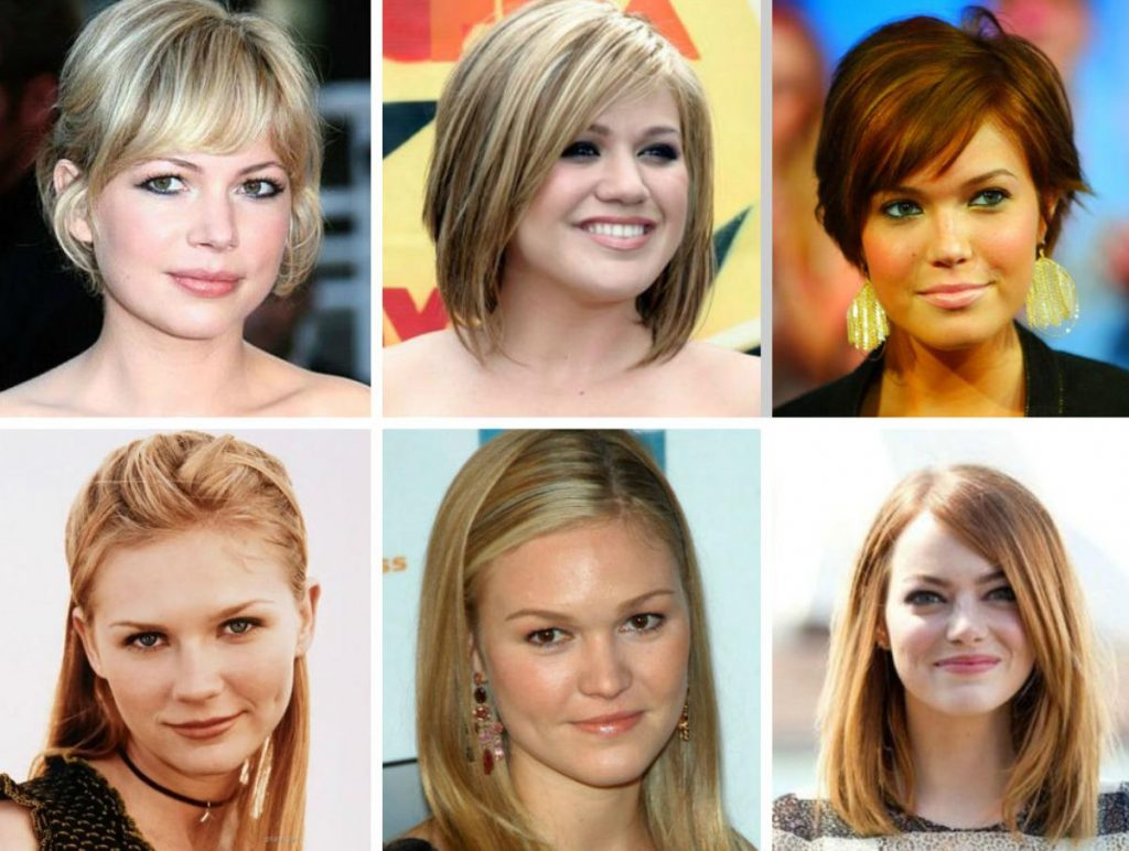 prom hairstyle for round faces