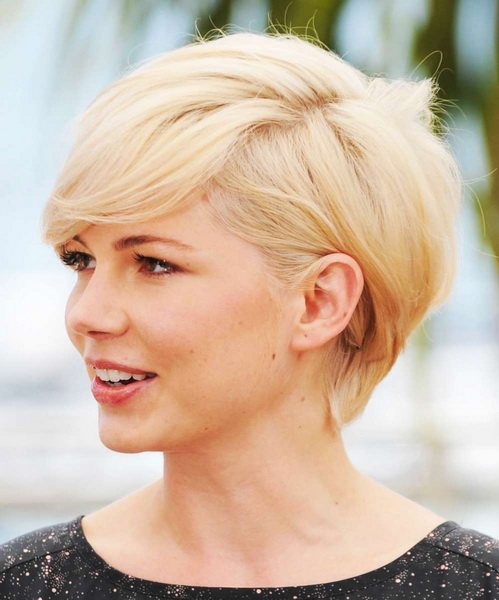 short hairstyles for round faces Hairstyles for round faces