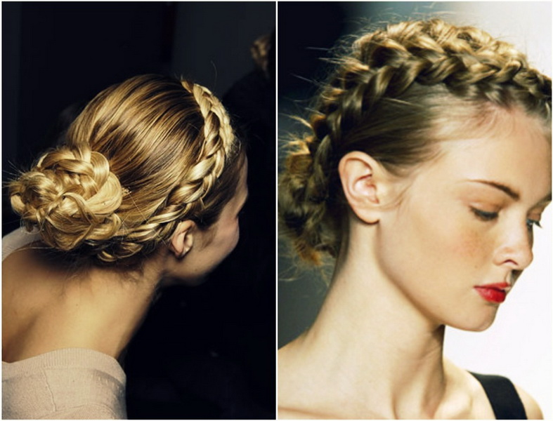 2 french braid hairstyles French braided hairstyles