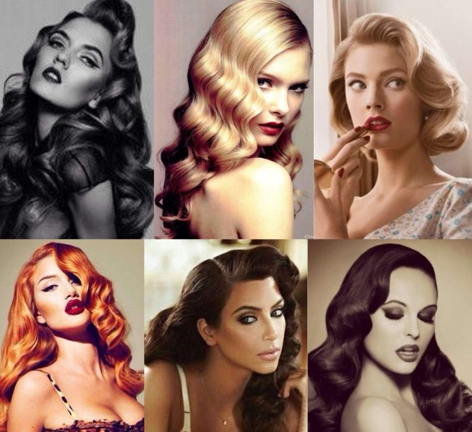 50's Hairstyles for Long Hair