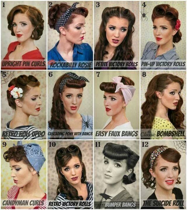 50s Hairstyles 50s Hairstyles ideas