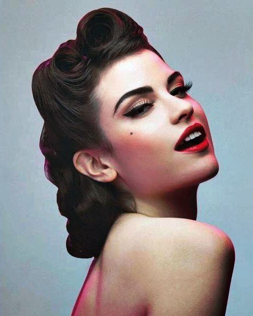 50s pin up hairstyles : 50s hairstyles for long hair 50s Hairstyles ideas