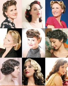 50s pin up hairstyles