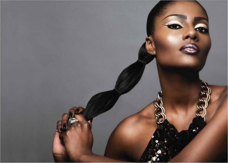 Most Beautiful Black Women Hairstyles Yve Style Com