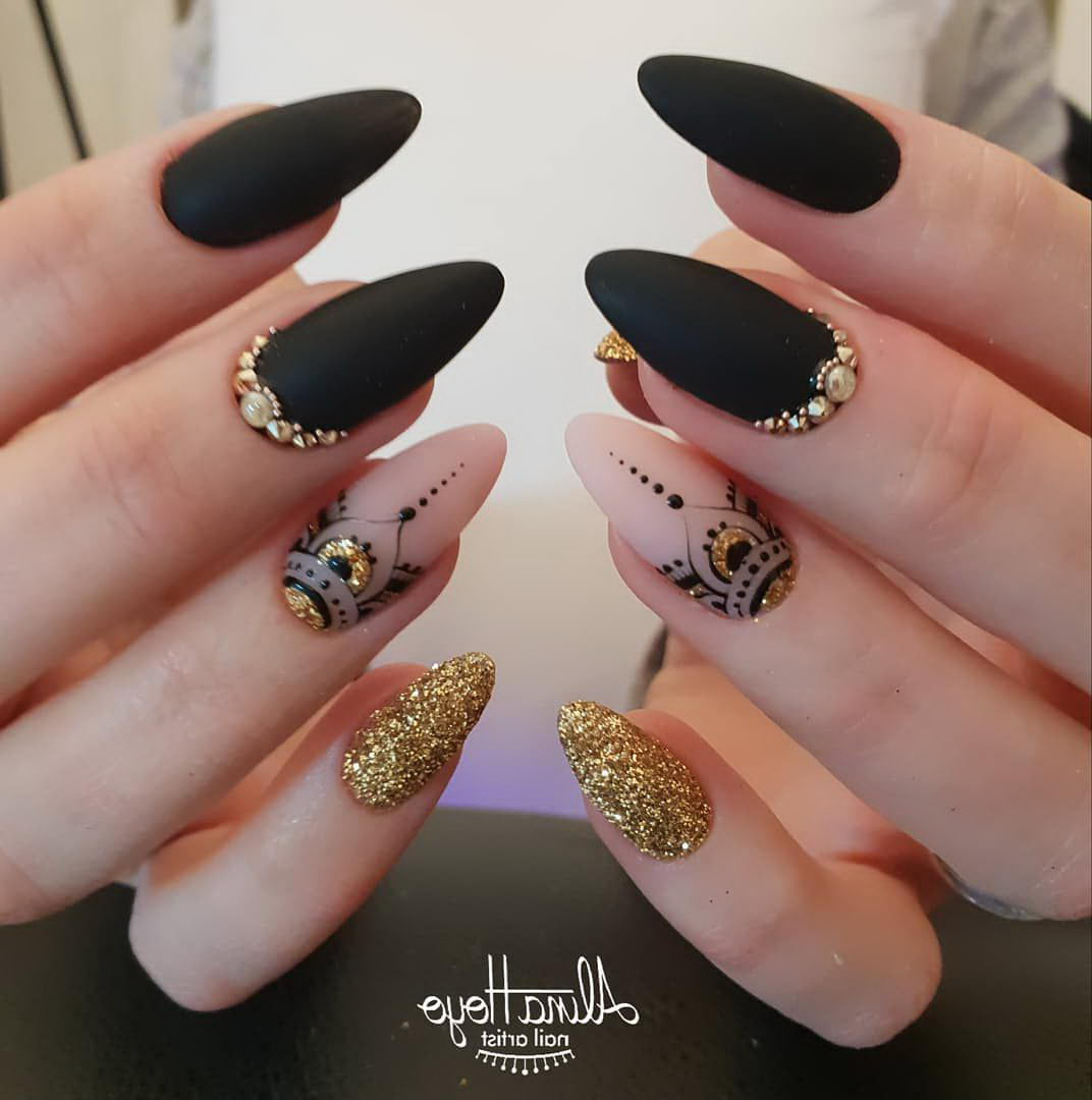 Jeweled Nail Art