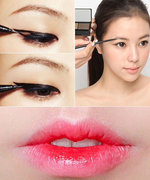 Korean makeup tutorial and pictures - yve-style.com