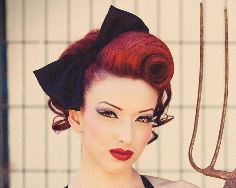 Pin Up Hair Bandanna Design