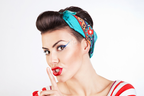 Pin up hairstyles 15 Pin up hairstyles easy to make