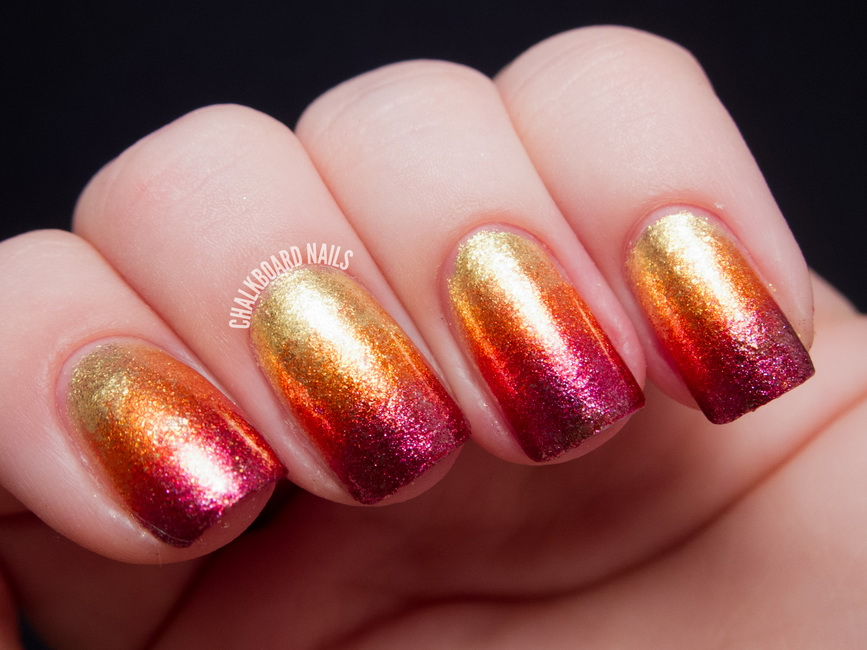 Cool Fire Nail Designs