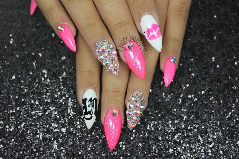 Stiletto nail designs 2015